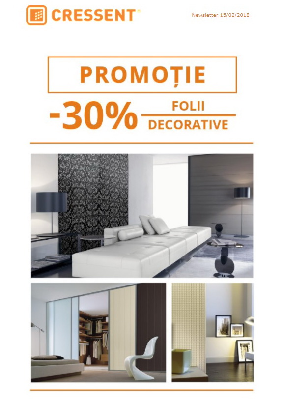 Promo folii decorative Sibu